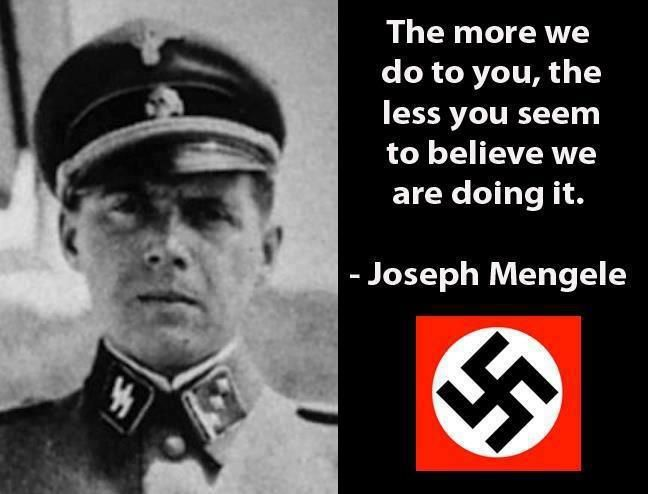 an analysis of the life and experiments of josef mengele a nazi doctor
