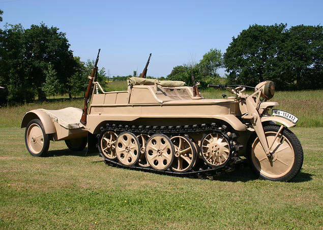 Kettenkrad 1944 Restoration Process By Axis Track Services