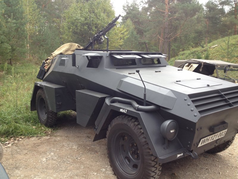 Used Cars For Sale Germany Military: Re-enactors Dream! Great Replica WW2 German Sd.Kfz. 247