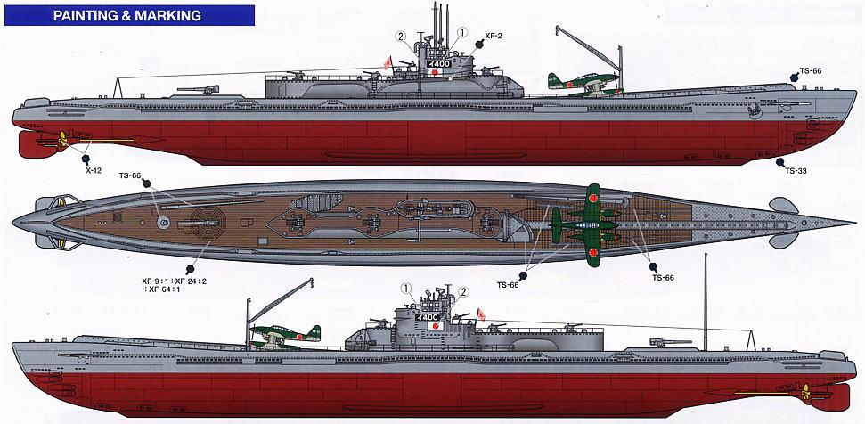 Sen Toku Class Mega Sub 11 Secret Weapons Developed By