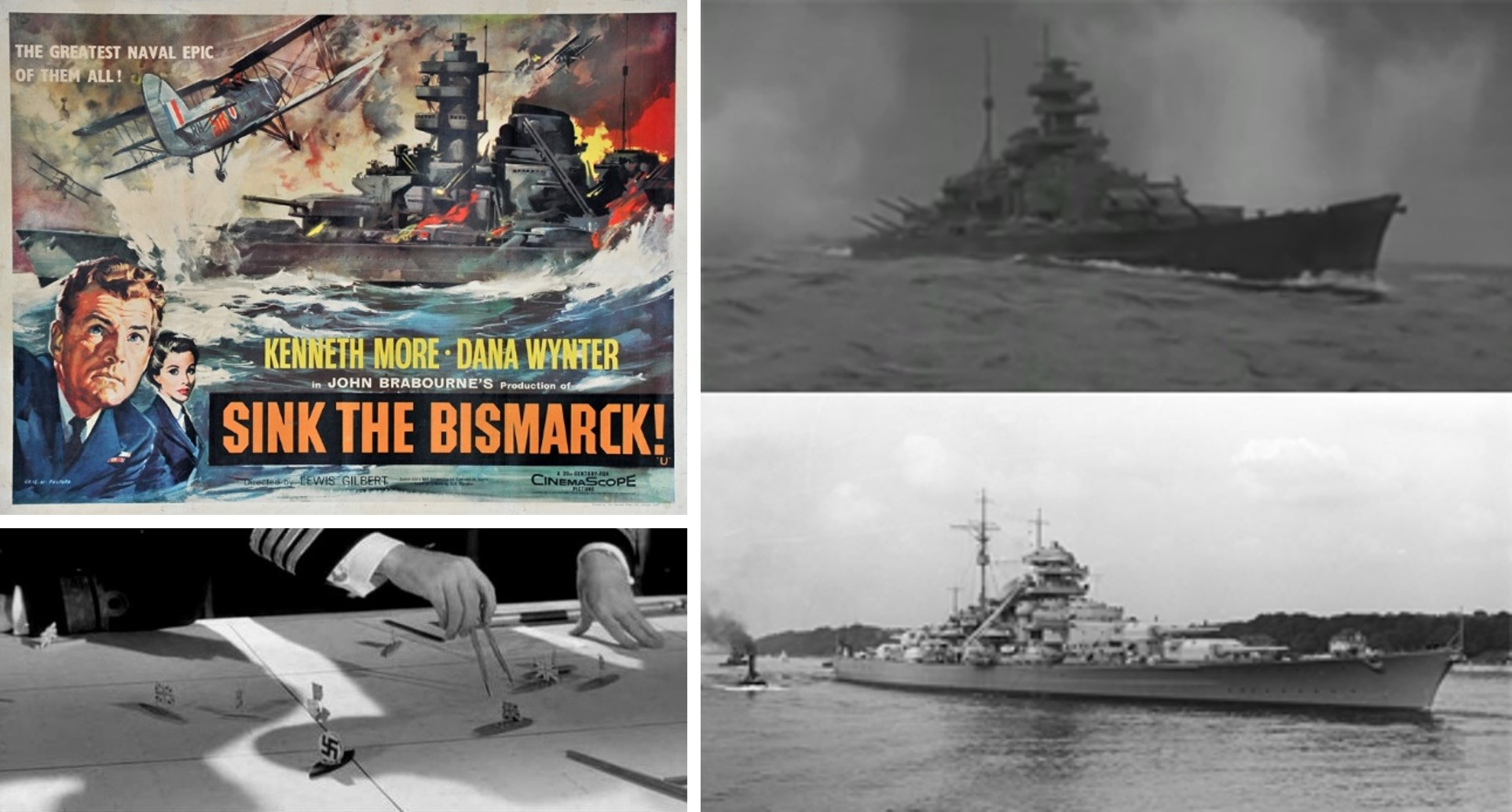 sink the bismarck a movie with an unrivaled consistency