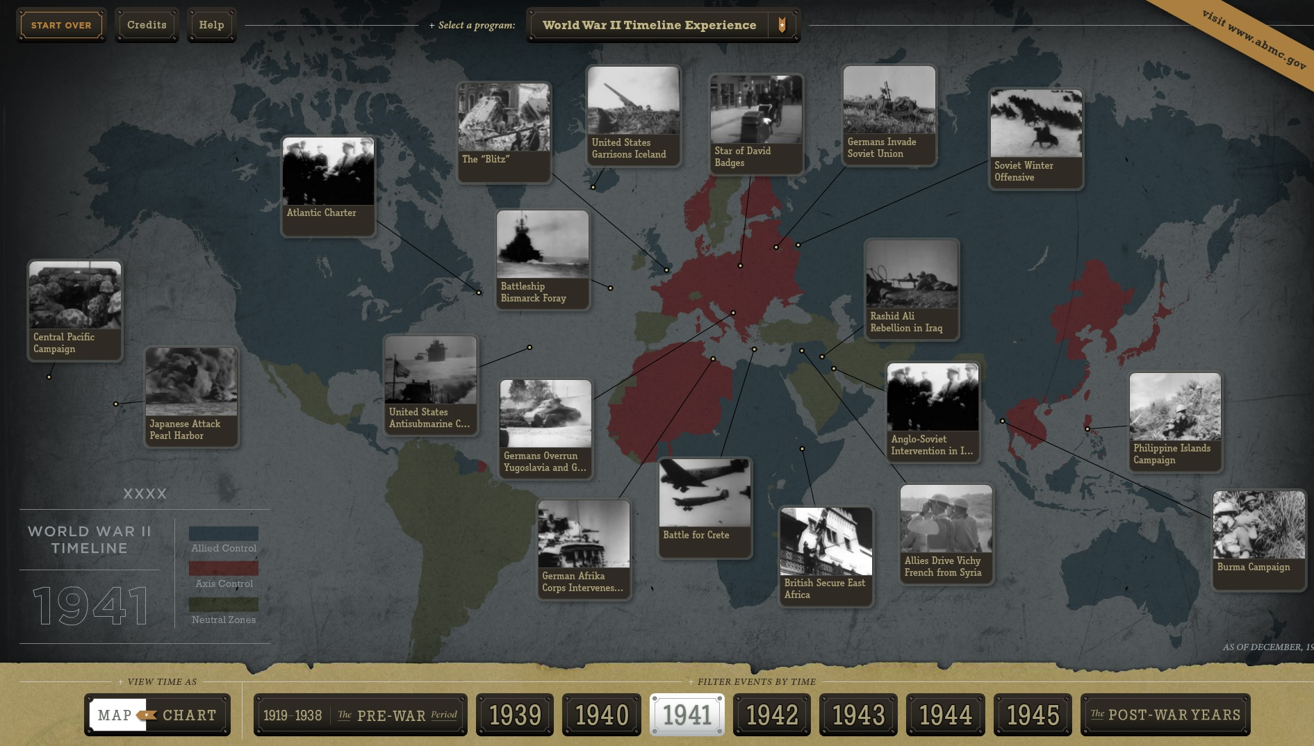New Interactive Timeline and Map Allows You to Explore the History ...