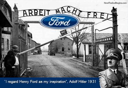 henry ford and adolf hitler relationship