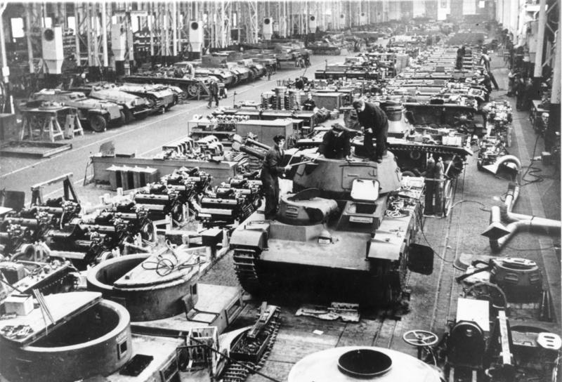 the growth of tanks production after the world war one Tanks in the german army  the development of one of the most famous tanks of world war ii was not  remain in both production and combat throughout world war.