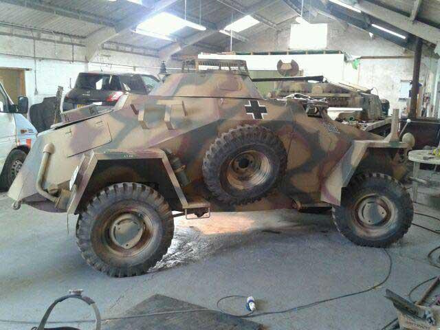 For sale: Replica WW2 German Tanks and Armoured Cars. Reenactors ...