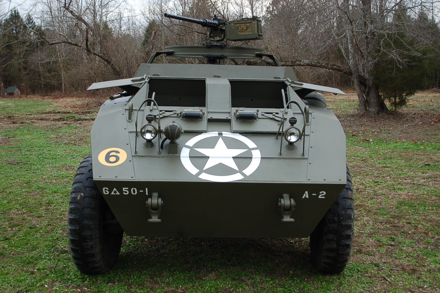 For sale:Original 1943 Ford M20 Armored Command Car WWII ...