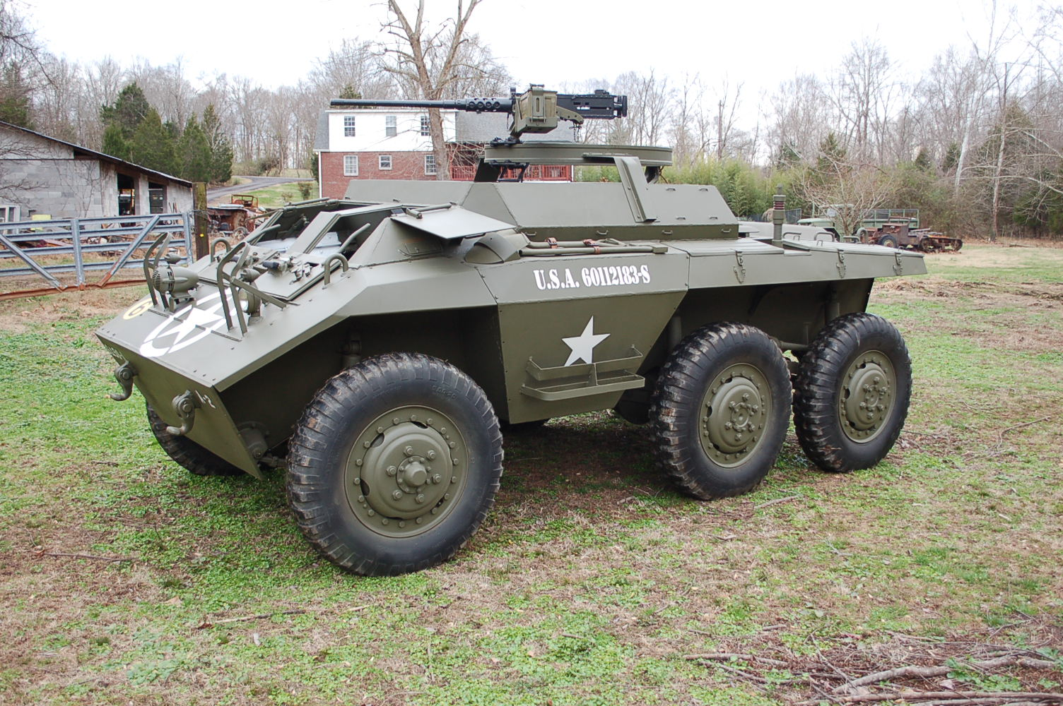 For sale:Original 1943 Ford M20 Armored Command Car WWII US Army ...