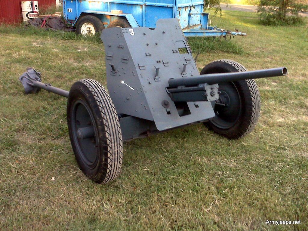 German 50 Mm Anti Tank Gun: For Sale: Original Pak 35/36 German WWII 37mm Anti Tank