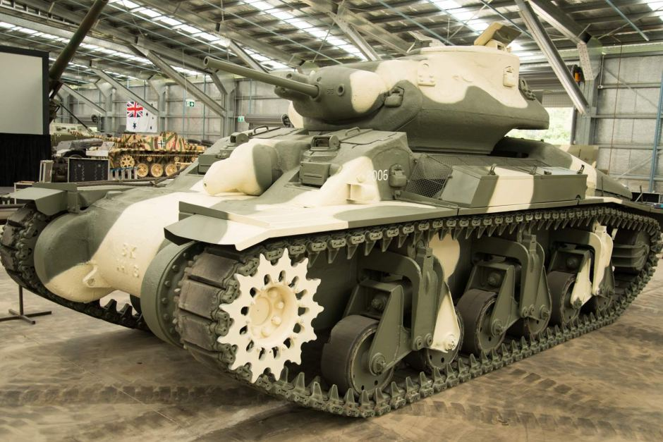 World Of Tanks Donates A Sentinel Tank To Cairns Museum