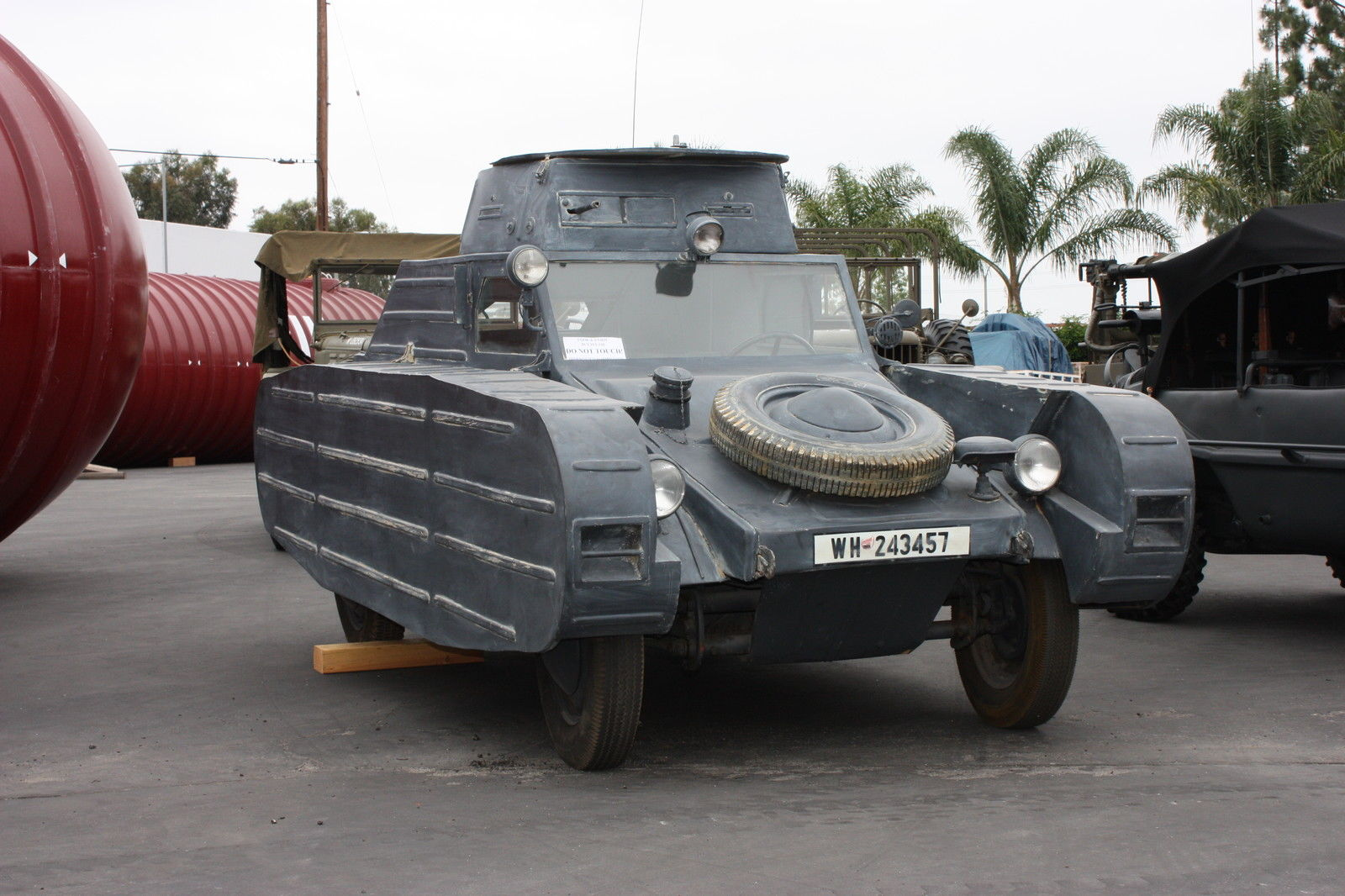 """Kubelwagen For Sale >> For sale: Bizarre German VW Type 82/3 """"Dummy Tank"""" - A Beetle-Based WW2 Tank"""