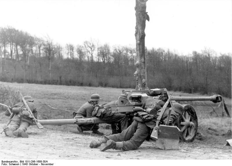 German 50 Mm Anti Tank Gun: For Sale: Original Unrestored 7.5 Cm Pak 40. The Bulk Of
