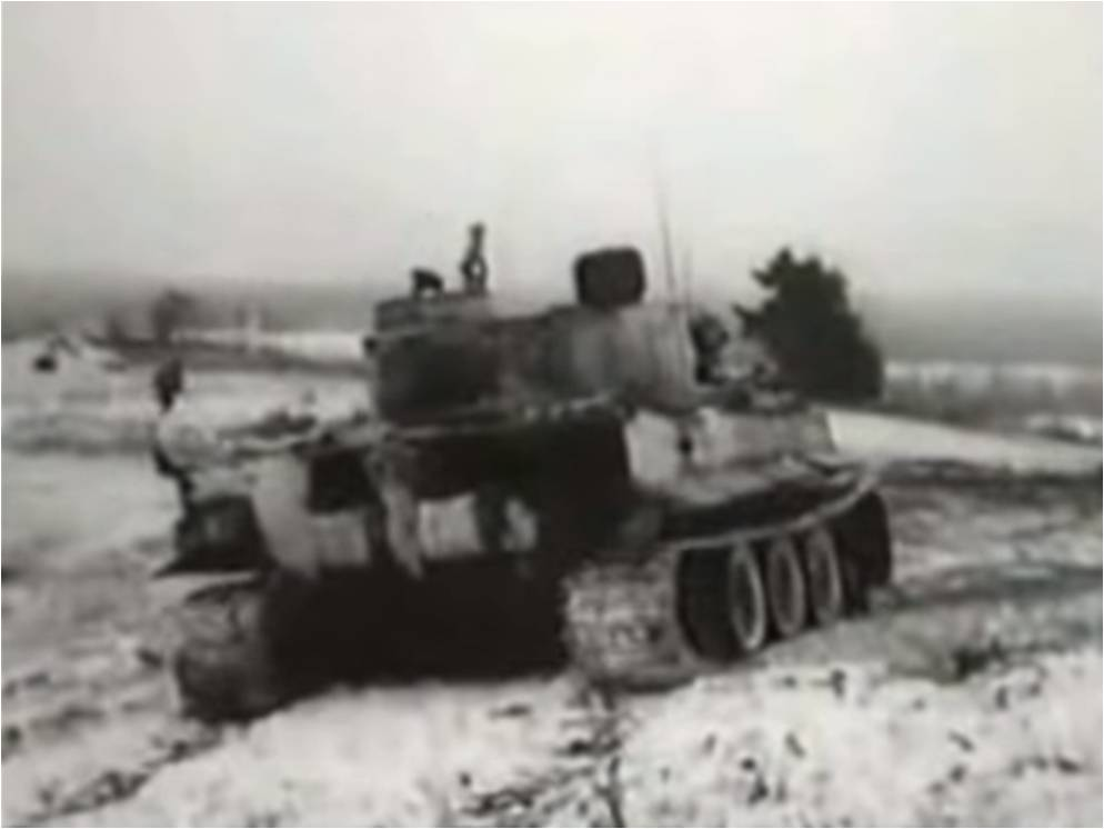 amazing real combat footage of german tiger tanks and panzer