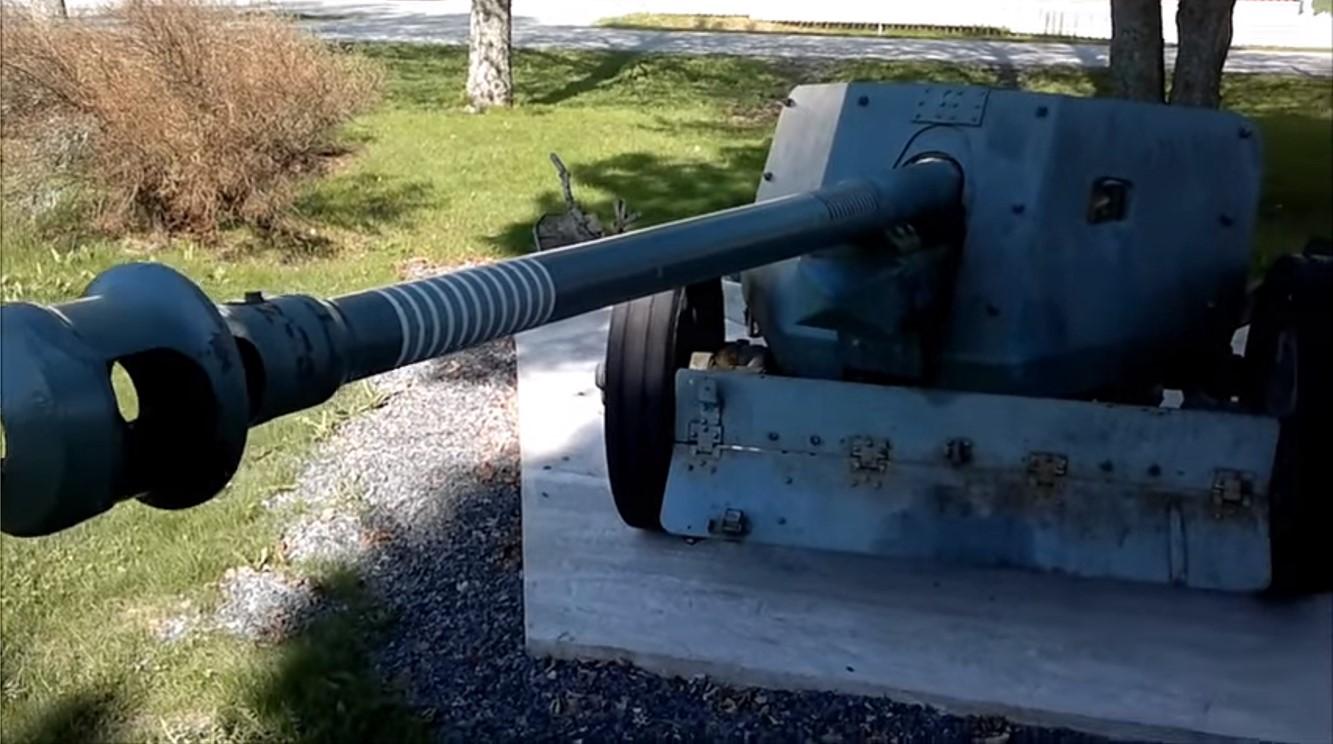 German 50 Mm Anti Tank Gun: PaK 40 German 75mm Anti Tank Gun