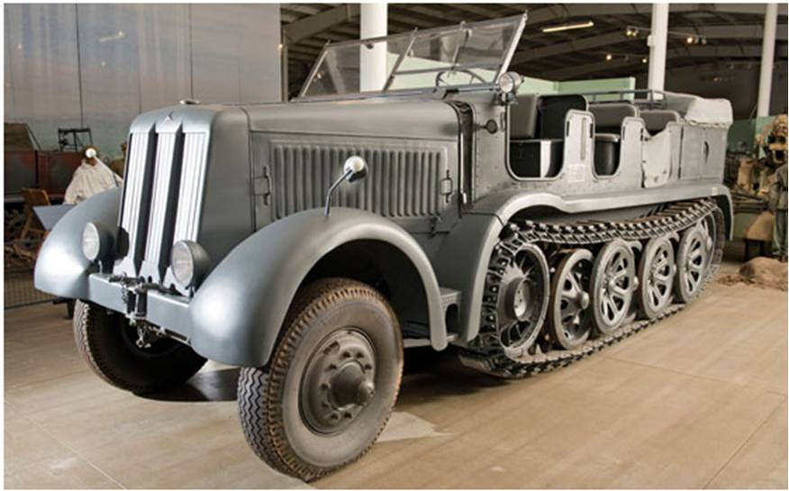 The emblematic collection of German WWII half-tracks sold at