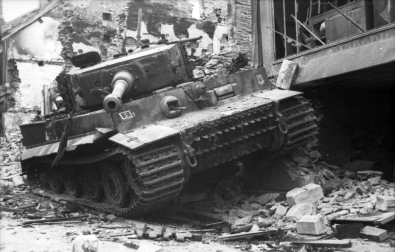 Image result for panzer tiger tank falaise pocket