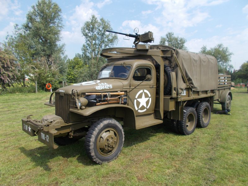 For sale: 1941 GMC 352 SWB used in Saving Private Ryan and ...