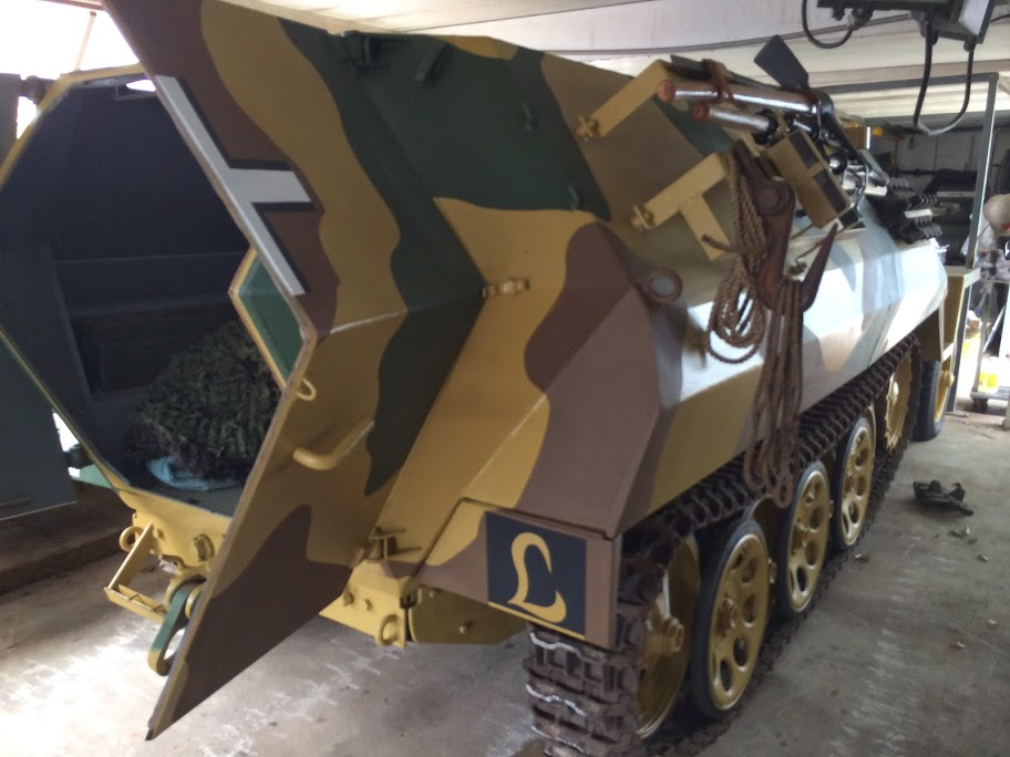 For Sale: OT-810 Half-track Restored as German SdKfz 251