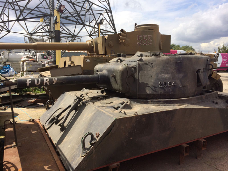Fury Film Tanks And Vehicles For Sale Make Your Own War