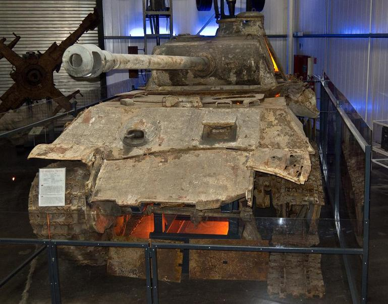 Wrecked German Panther tank found in Ukraine in 27 stunning images