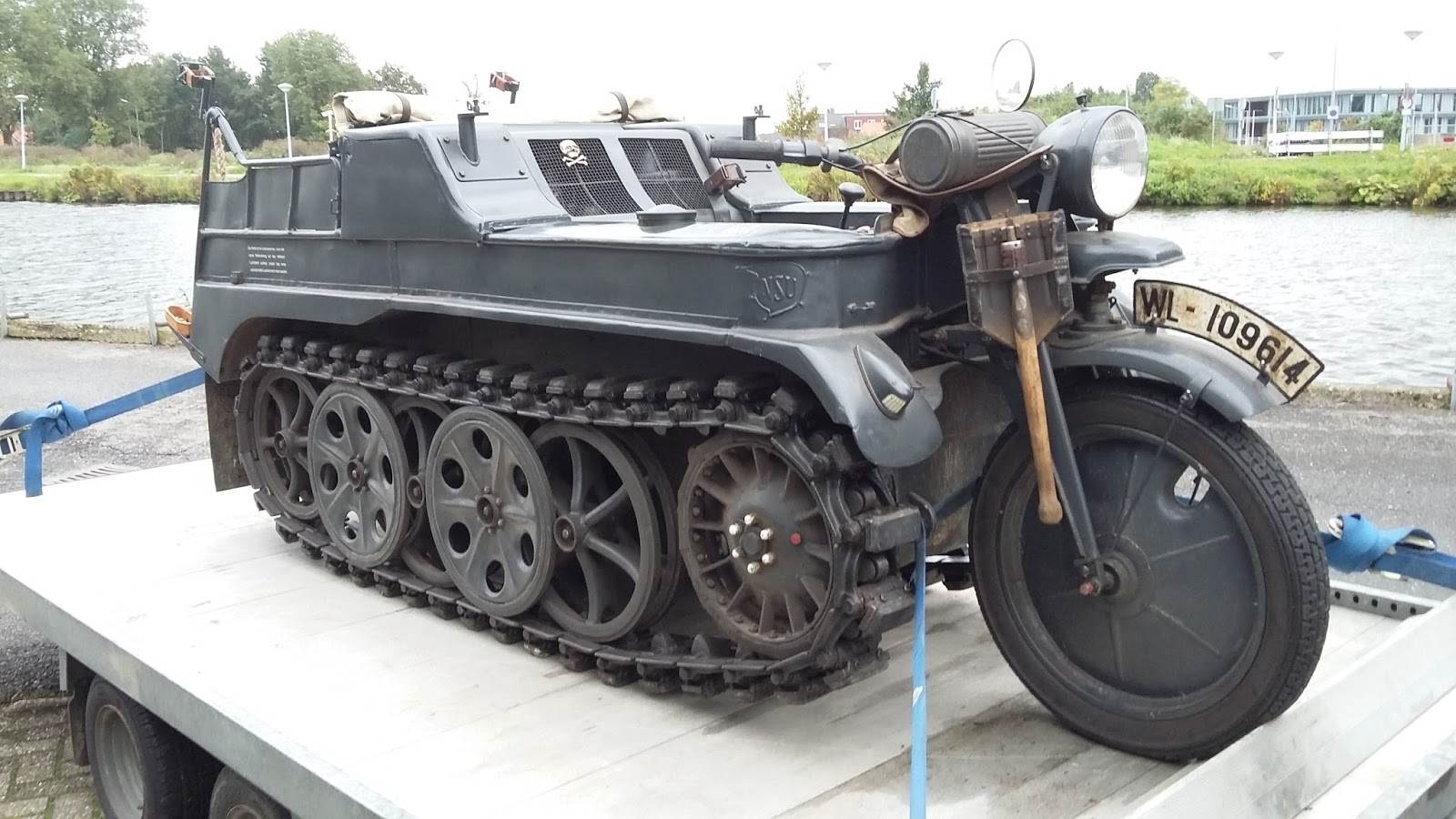 M3 Tank For Sale >> For sale: 1943 Sd.Kfz 2 NSU HK101 Kettenkrad in 12 images. Price on asking!