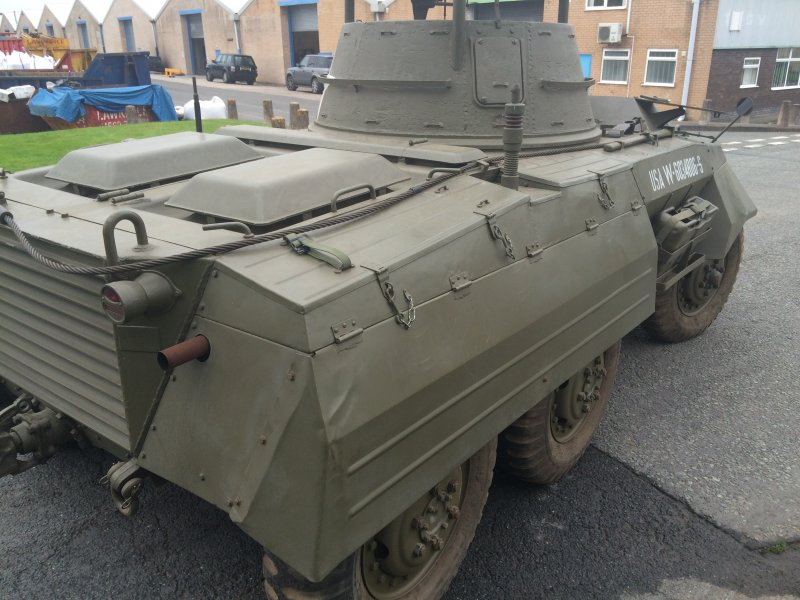 For sale: M8 Armored Car restored in great condition and
