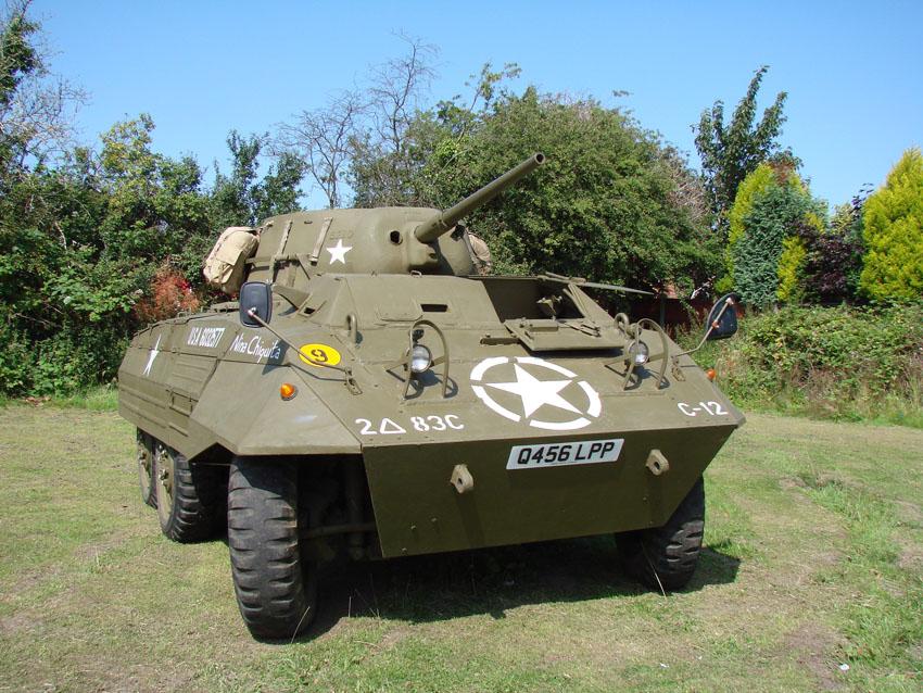 Fully Restored WW2 M8 Greyhound Armoured Car Nicknamed