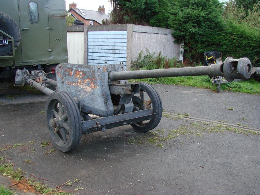 German 50 Mm Anti Tank Gun: PAK 40 German WW2 Anti Tank Gun For Hire! Even With Opel