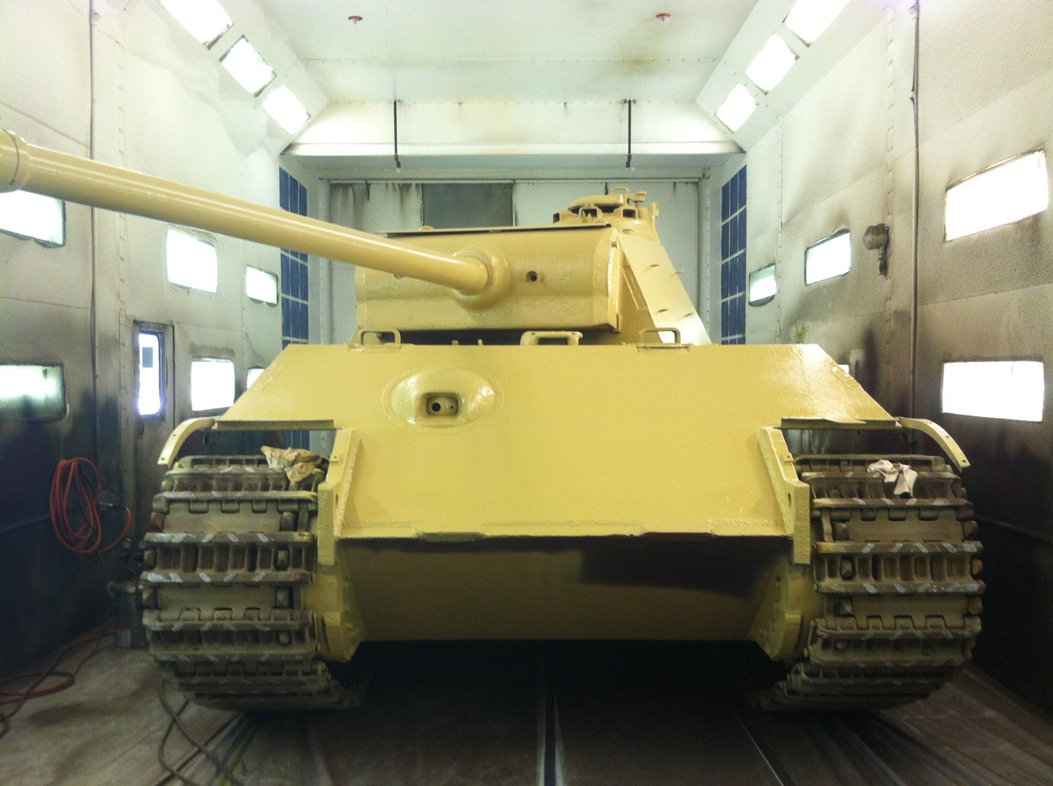 a9c917c4678c0f Panther II prototype has new fresh coat of paint! - 14 impressive images