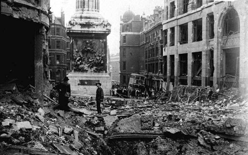 Different cities of the world destroyed by second world for Cities destroyed in ww2