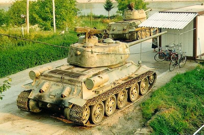 T34 tank