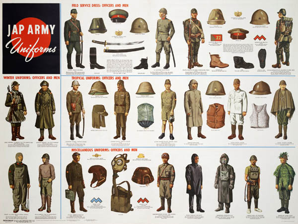 Japanese Army Uniforms