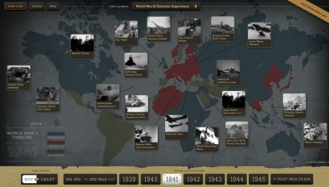 New Interactive Timeline and Map Allows You to Explore the History of World W