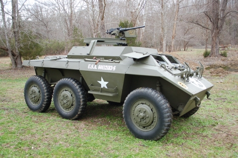 Ford Armored Cars From Ww