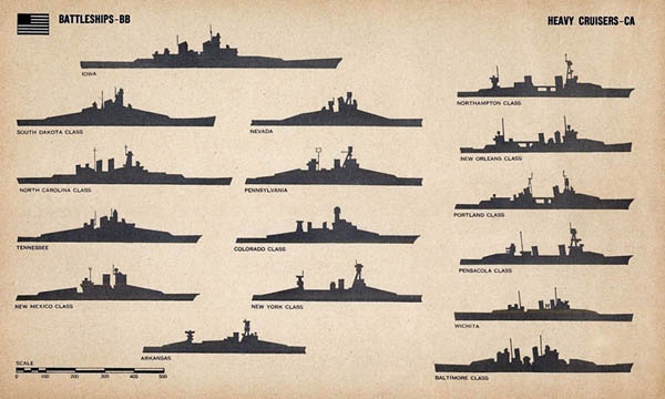 US Navy Ship Silhouettes - Us navy ship map