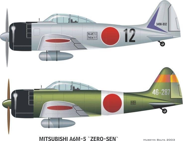 mitsubishi a6m reisen (zero-sen)